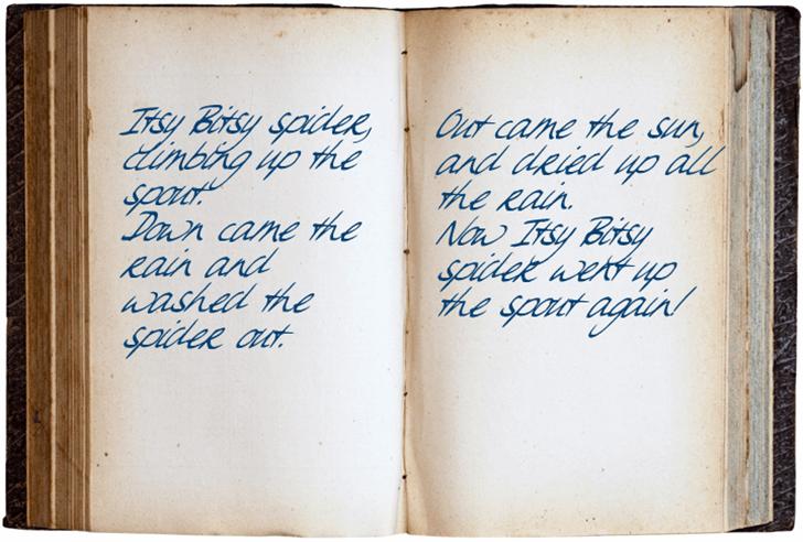 Sweet Steeffie Font handwriting text