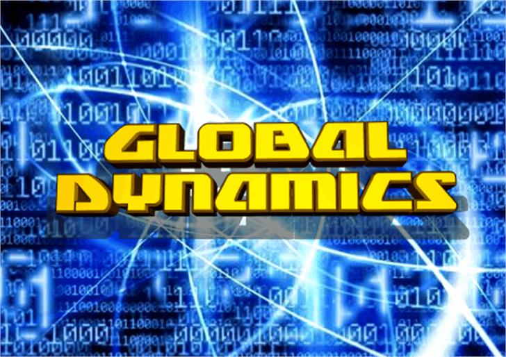 Global Dynamics Font screenshot text
