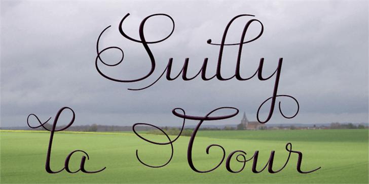 Suilly la Tour-Demo Font grass handwriting