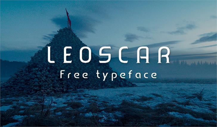 Leoscar font by Faridul Haque