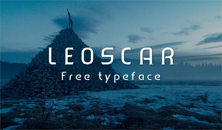 Leoscar Font sky screenshot