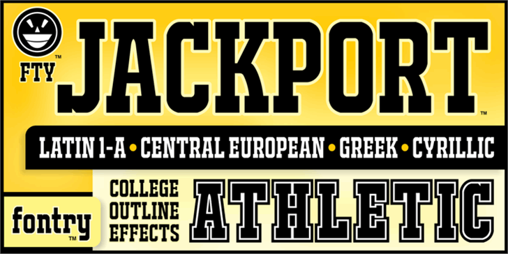 JACKPORT COLLEGE NCV font by the Fontry