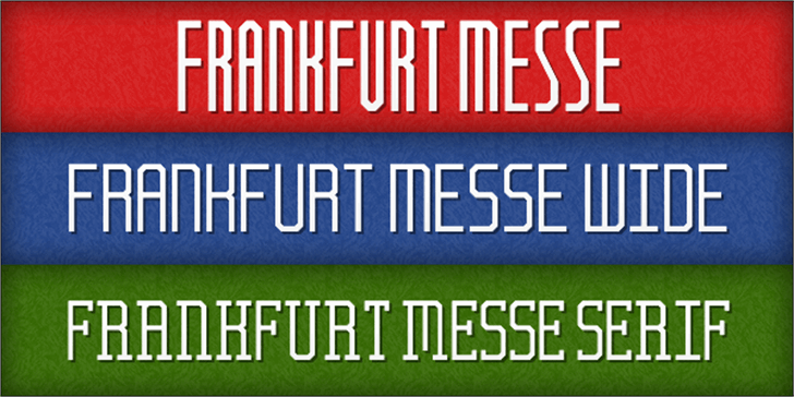 Frankfurt Messe Font screenshot text