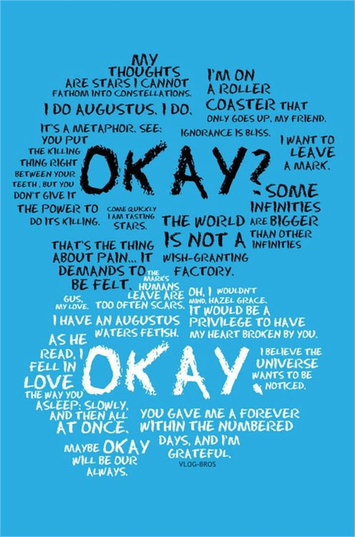 Eraser Font screenshot poster