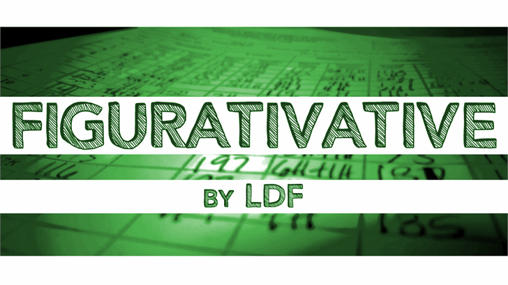 Figurativative font by Jake Luedecke Motion & Graphic Design