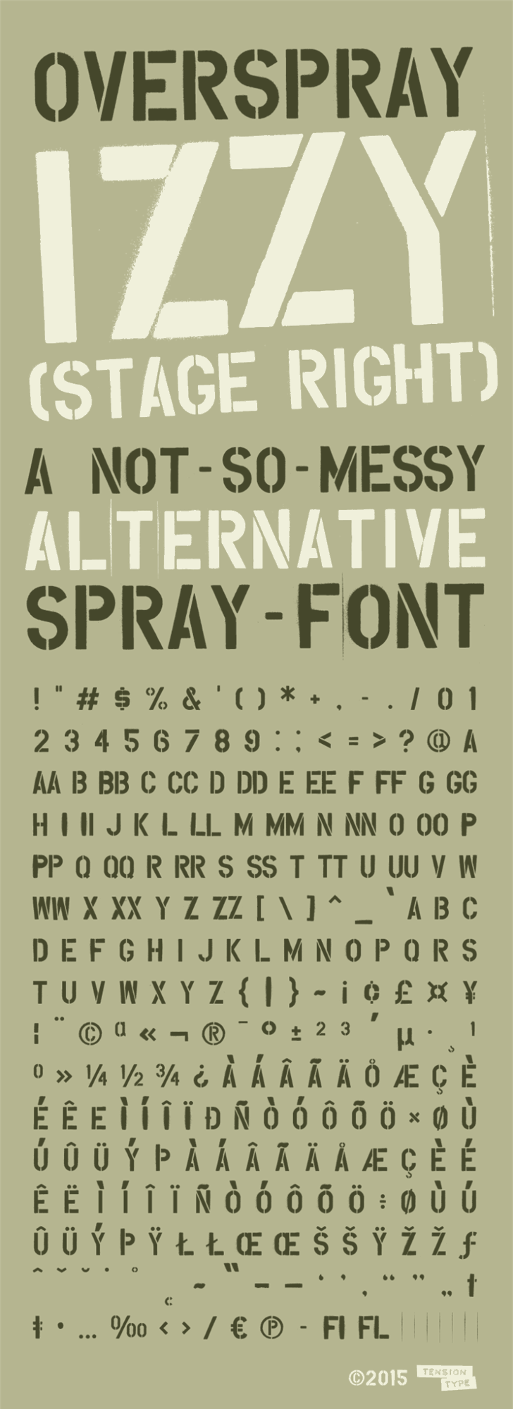 Overspray Font text screenshot