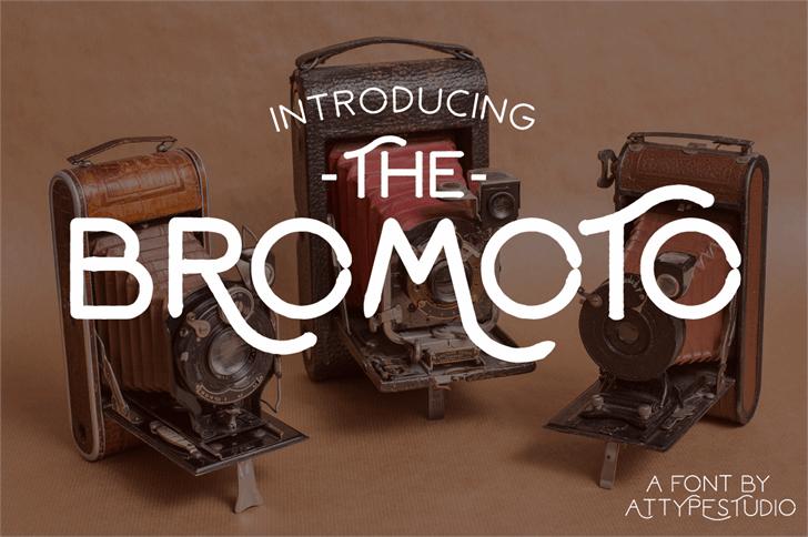 Bromoto Font furniture design