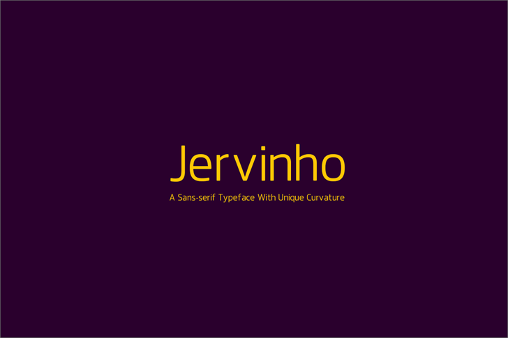Jervinho Font screenshot
