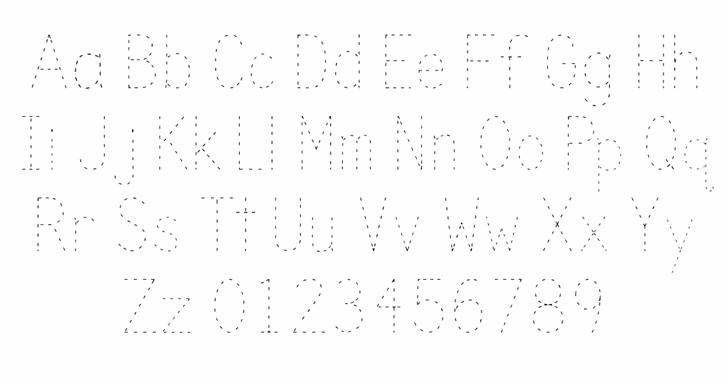 Trace Font Letters Charmap