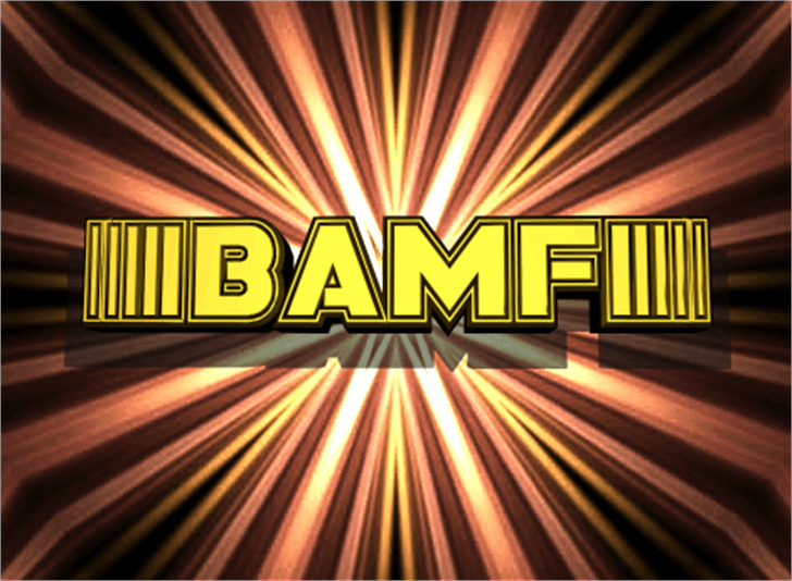 Bamf Font screenshot poster