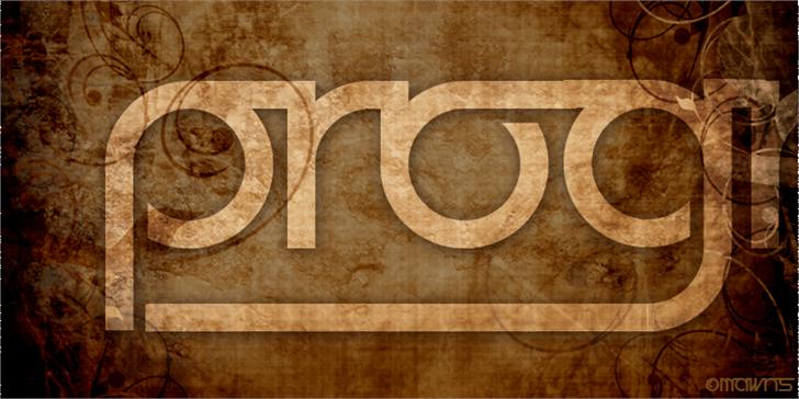 Prognostic Font brown circle