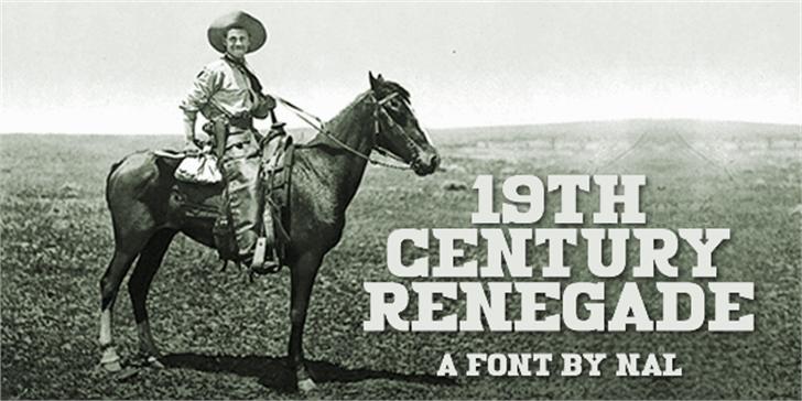 19th Century Renegade Font horse outdoor