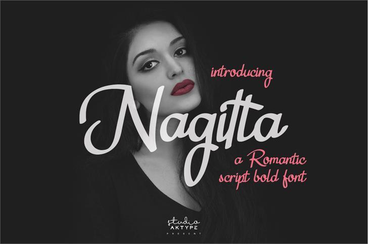 Nagitta Personal Use font by StudioAKTYPE