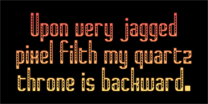 Navajo Deco Font screenshot text