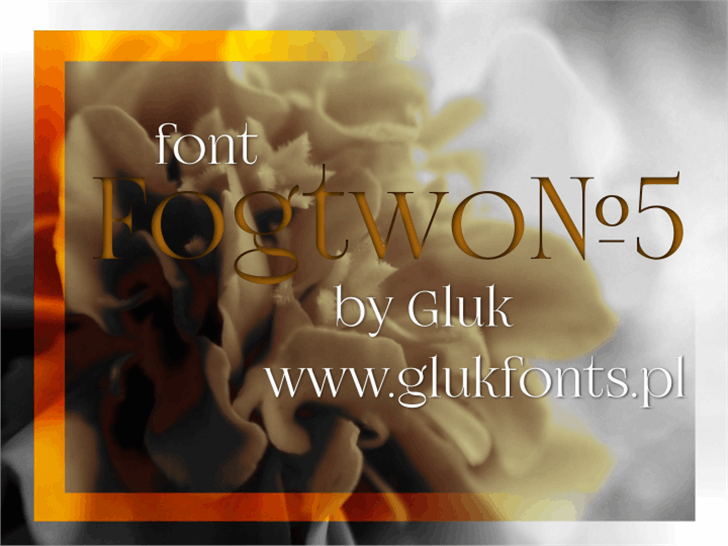 FogtwoNo5 font by gluk