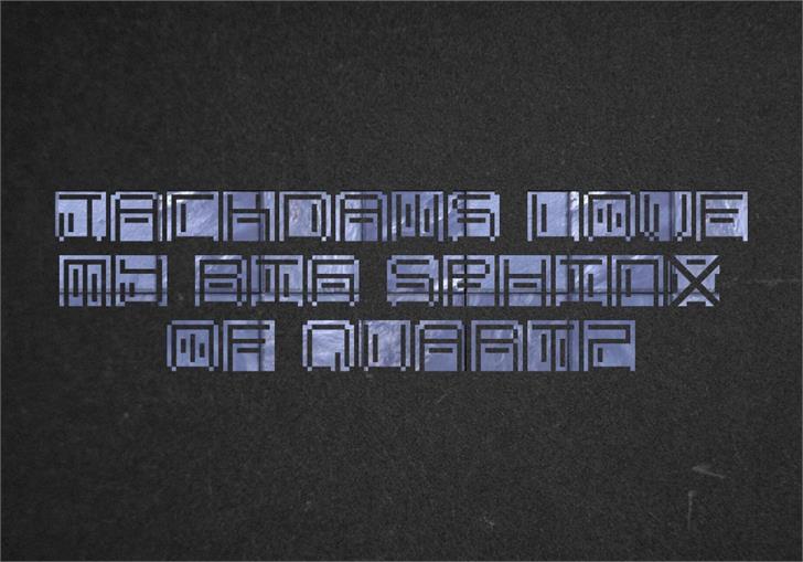 OHMU Font screenshot design