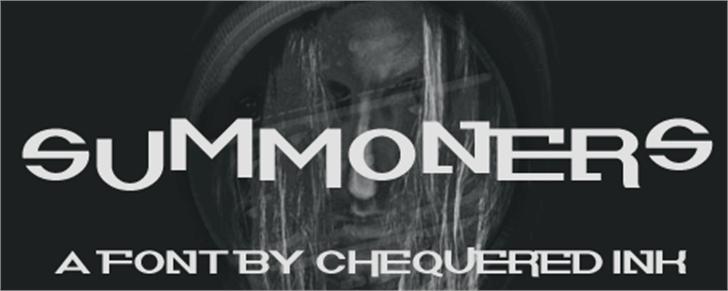 Summoners Font poster screenshot