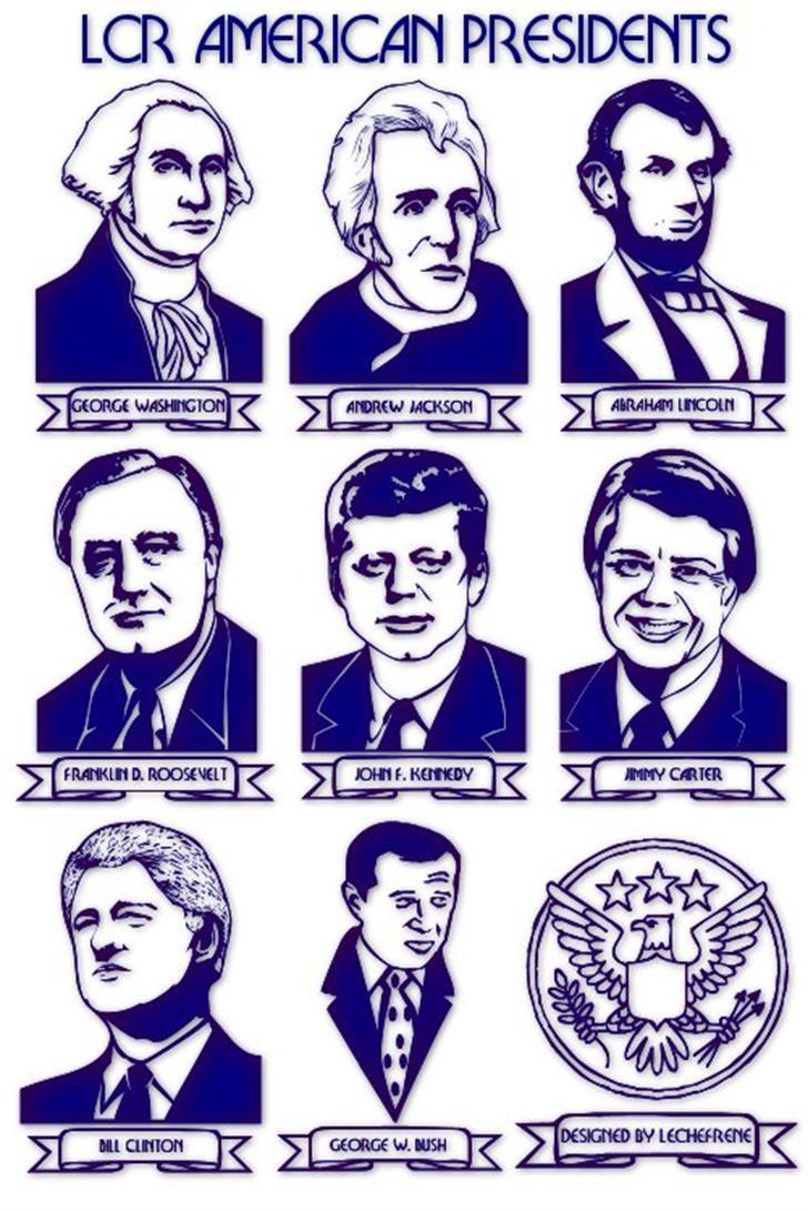 LCR American Presidents Font nintendo
