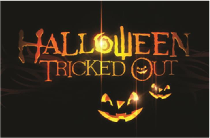 SHARRPE GOTHIK Font halloween poster