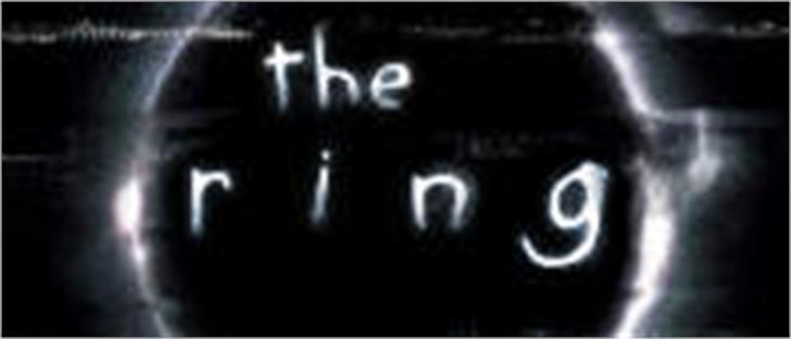 the ring font by Filmfonts