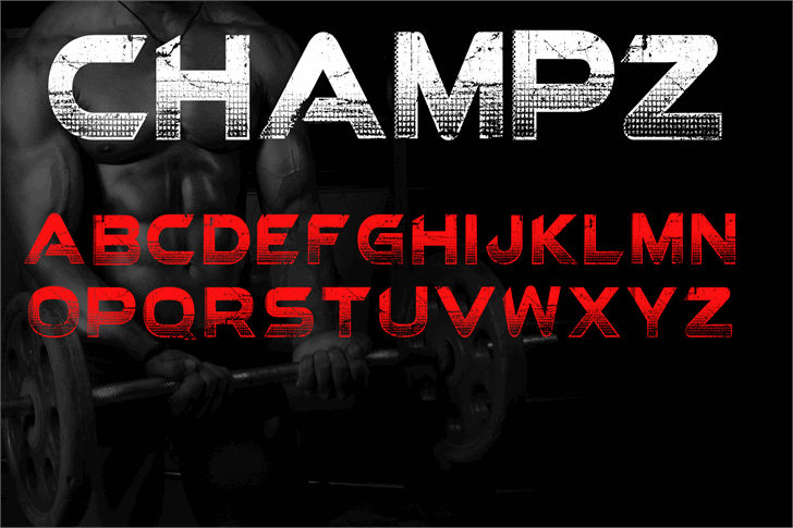 Champz DEMO font by knackpackstudio