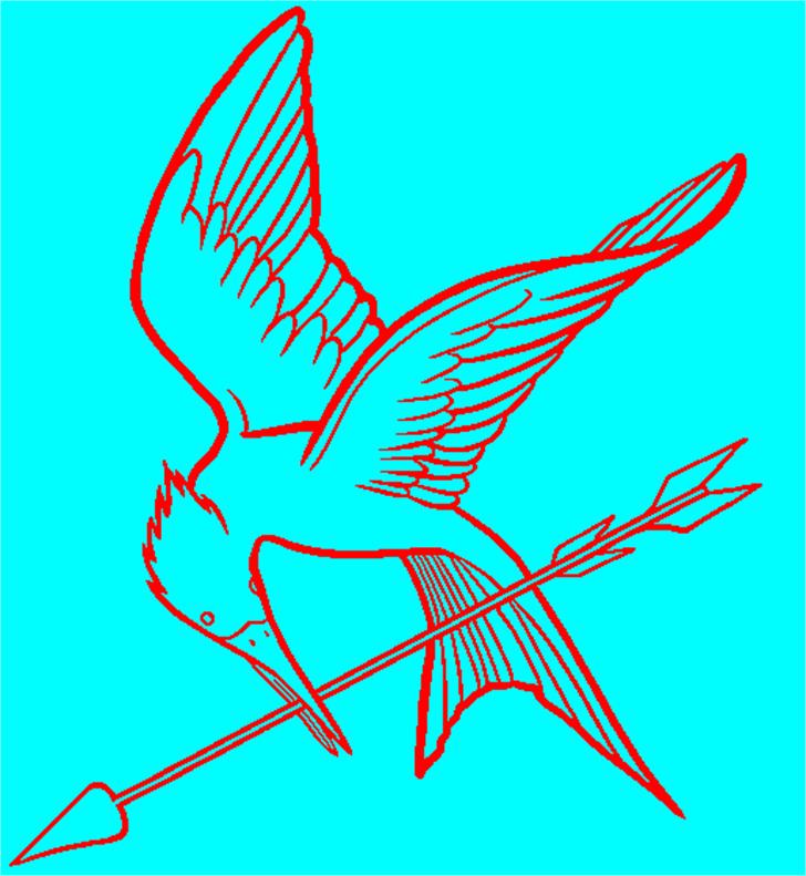MockingjayXL Font drawing sketch