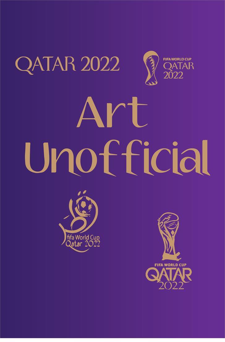 2022 unoifficial Font design illustration