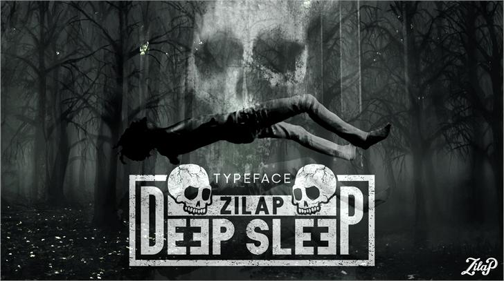 Zilap Sleep Font poster screenshot