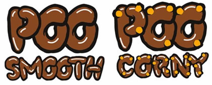 PooCorny Font cartoon clipart