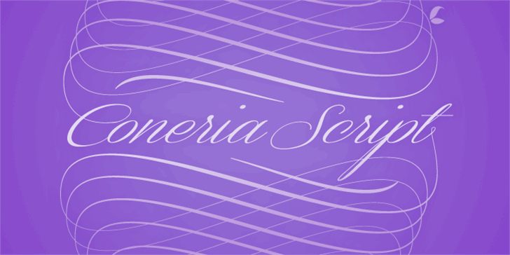 Coneria Script Demo Font handwriting design