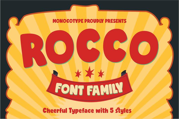 Rocco Font poster screenshot