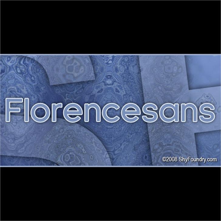 SF Florencesans Font screenshot