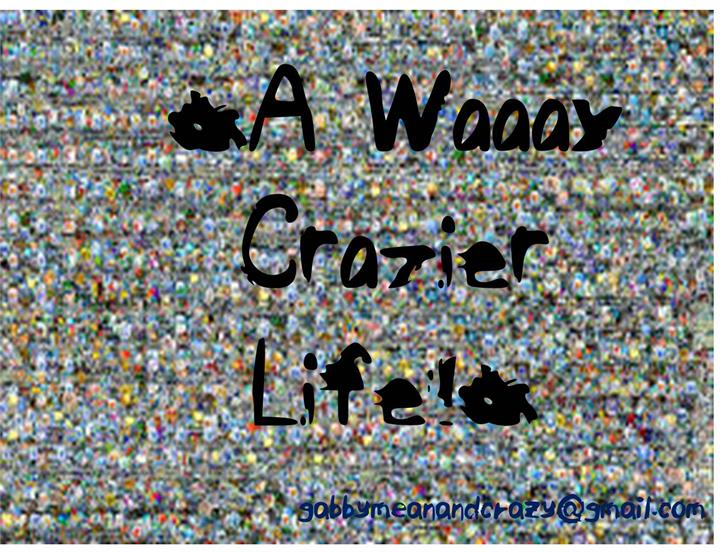 ELFAWaaayCrazierLife Font cartoon drawing