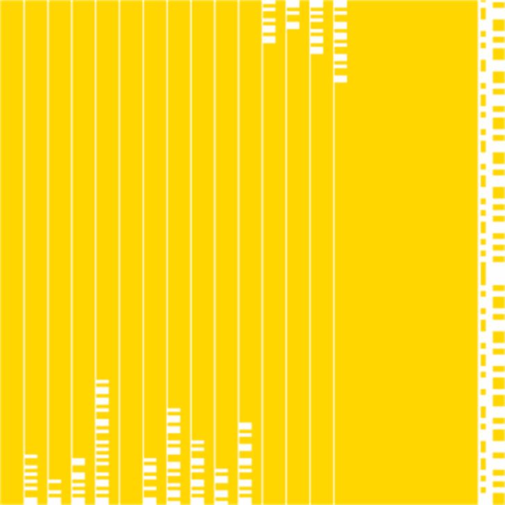 BukanMorse Font yellow design