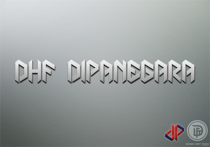 DHF Dipanegara font by Dexsar Harry Anugrah