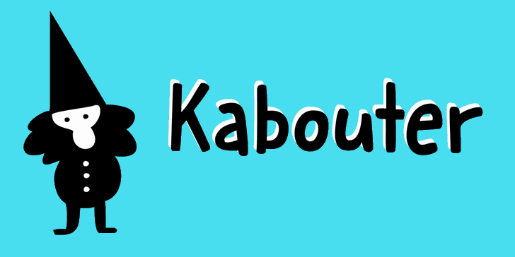Kabouter DEMO Font poster