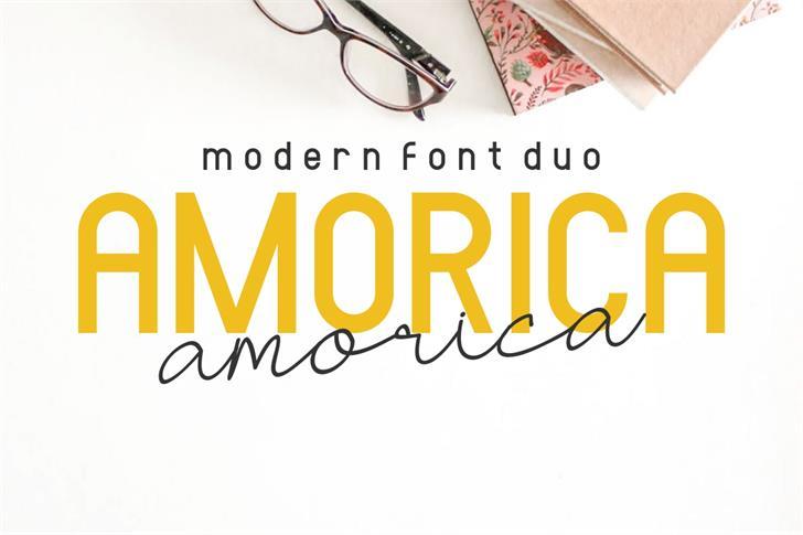 AMORICA SANS Font