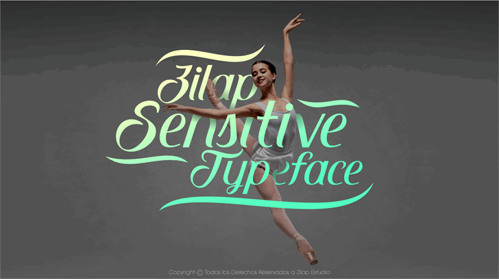Zilap Sensitive DEMO font by ZILAP ESTUDIO - ZP