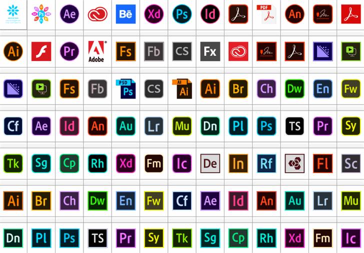 Font Adobe Color font by elharrak