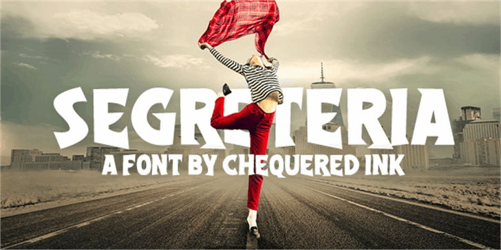 Segreteria font by Chequered Ink