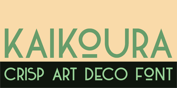 DK Kaikoura Font screenshot design
