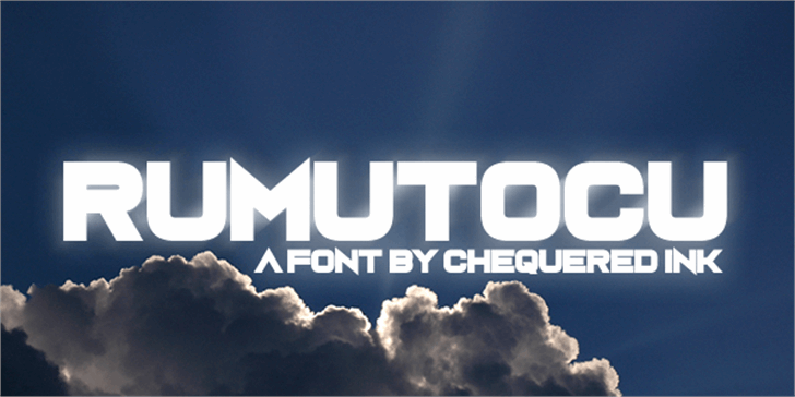 Rumutocu Font screenshot cloud