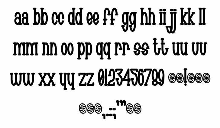 Chachie font by Font-a-licious