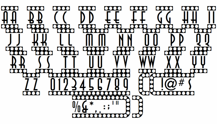 Showtime font by ARRF Designs
