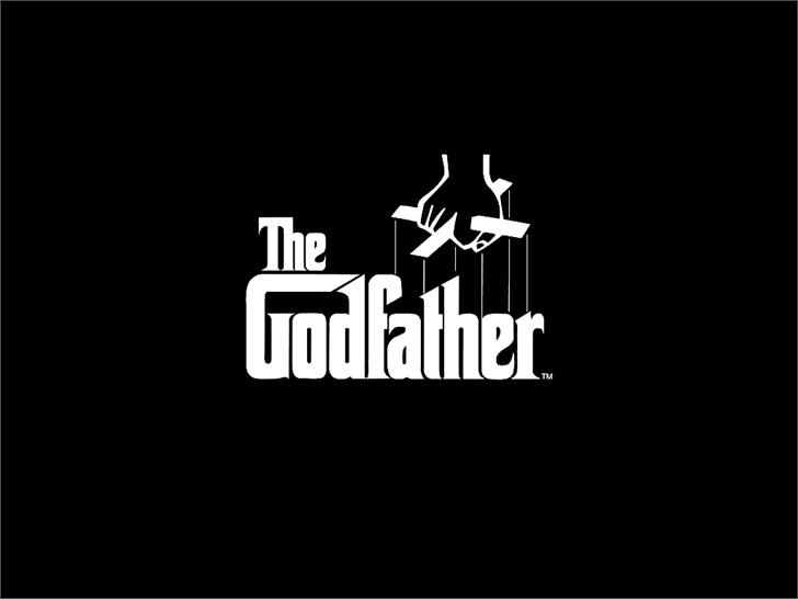 The Godfather font by BoltonBros