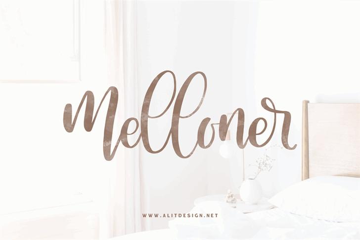Melloner font by Alit Design