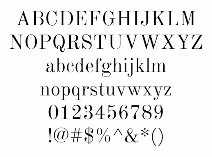 Km Standard TT font by Km