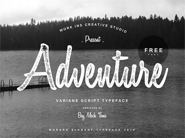 Variane Script font by Work Ins Studio