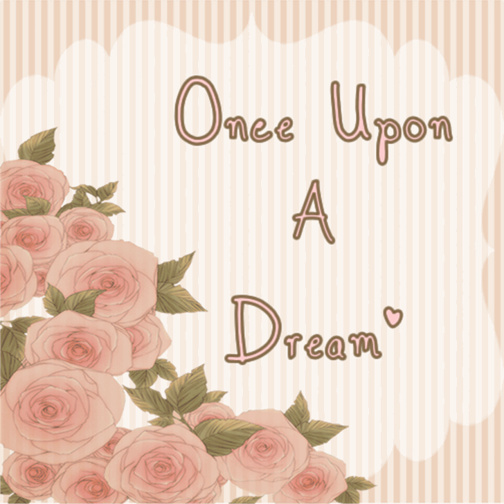 Once Upon A Dream  Font text