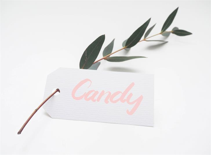 Candy Font design